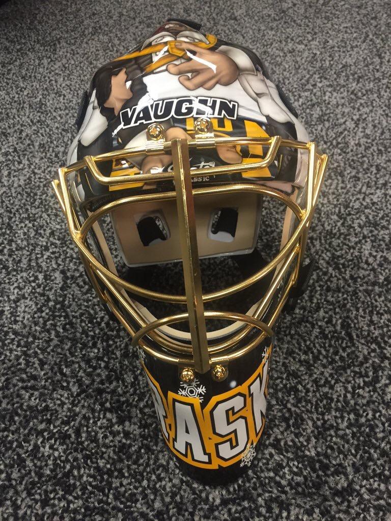 Tuukka s Winter Classic Mask Is ON FIRE! – BostonPucks.com 717a7ba47