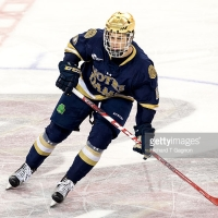 Anders Bjork Developing with the Fighting Irish