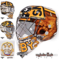 Khudobin With Goalie Mask Of The Year