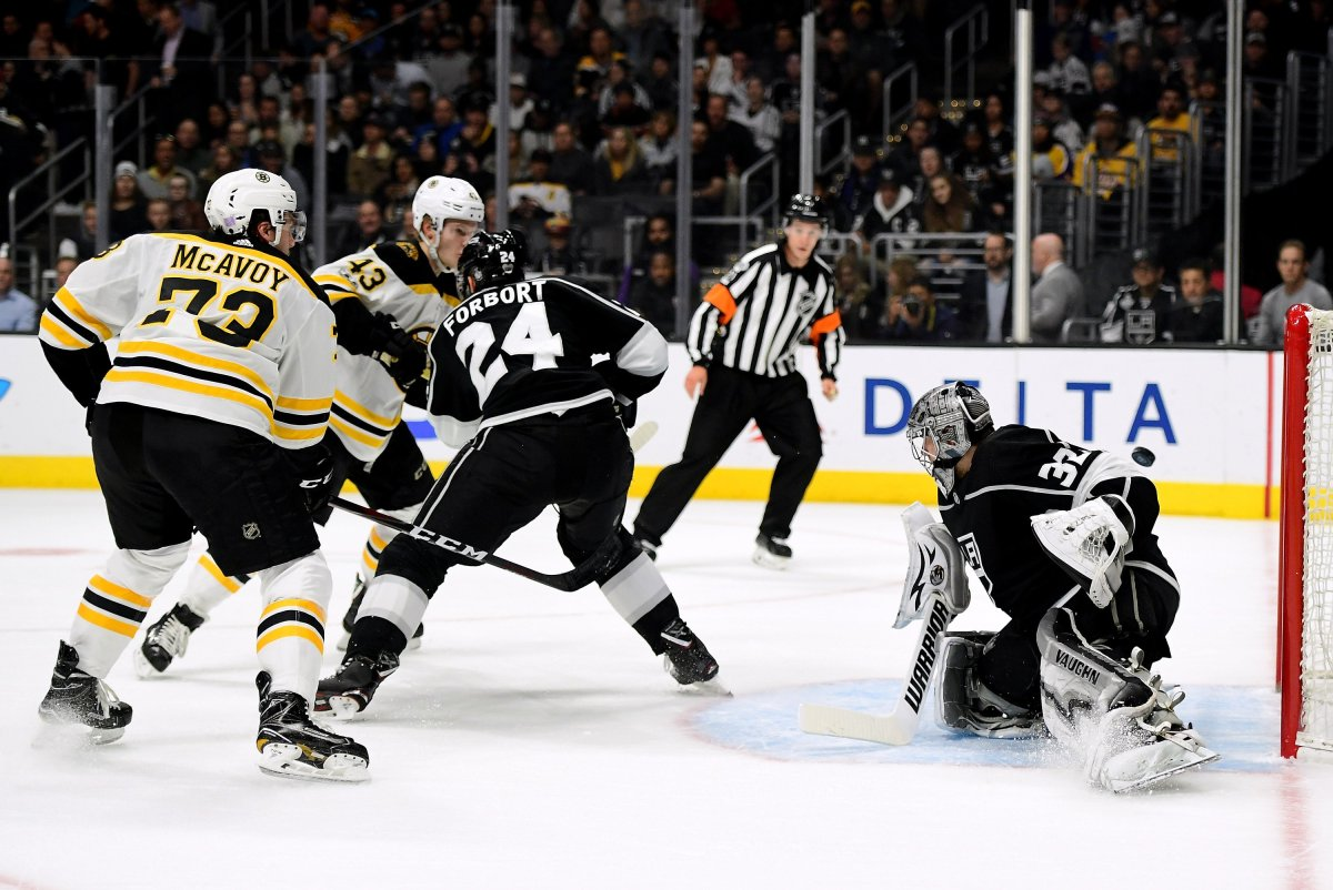 "Cassidy: ""No Passengers"" In Bruins Win"
