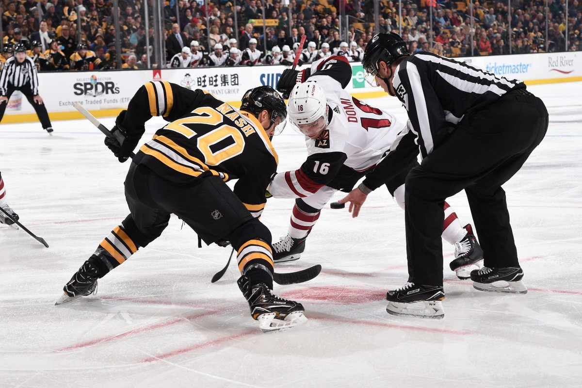 Bruins Throttle The Coyotes, 6-1